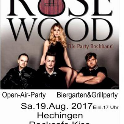 Open Air mit RoseWood  Hechingen Rock Cafe Kiss
