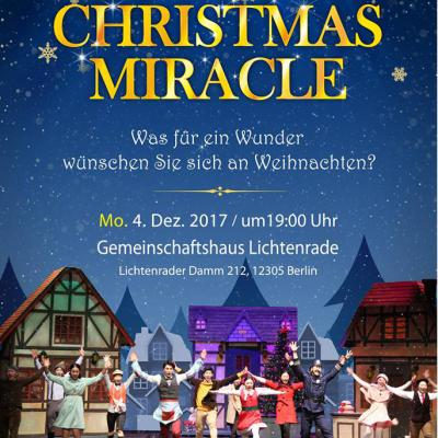 "Musical ""Christmas Miracle"""