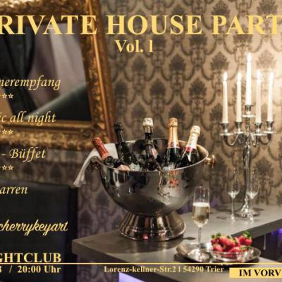 PRIVATE HOUSE PARTY - Vol. l