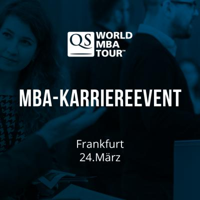 QS World MBA Tour - MBA-Messe Frankfurt