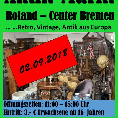 Antikmarkt Bremen Roland-Center 2 Termine