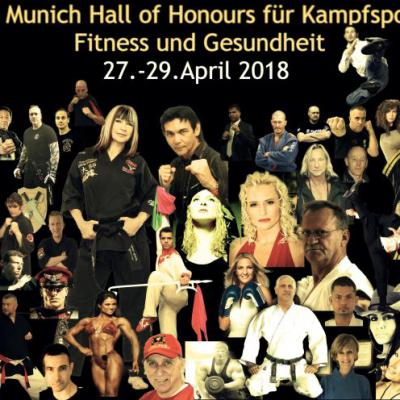 11. Munich Hall of Honours Kampfsport & Fitness