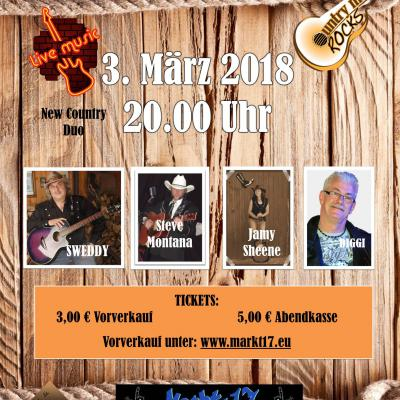 Country Night im Markt 17