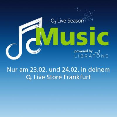 o2 Live Music Season powered by Libratone