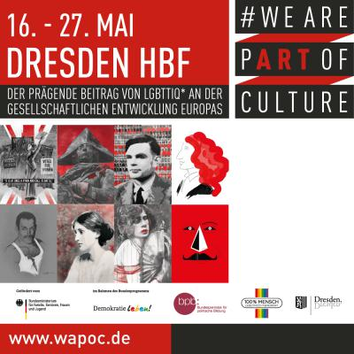 WE ARE PART OF CULTURE Dresden