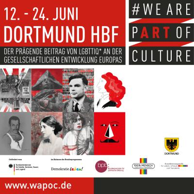 WE ARE PART OF CULTURE Dortmund