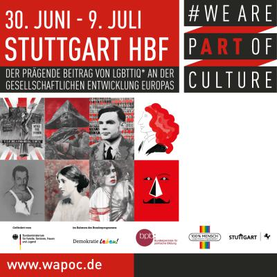 WE ARE PART OF CULTURE Stuttgart