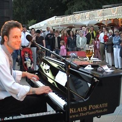 "Live-Musik - ""Klaus Porath"" THE PIANO MAN"