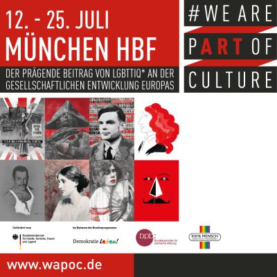 WE ARE PART OF CULTURE München