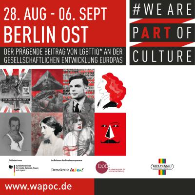 WE ARE PART OF CULTURE Berlin