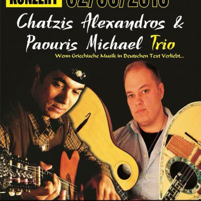 Alexandros Chatzis & Michael Paouris Trio on Stage