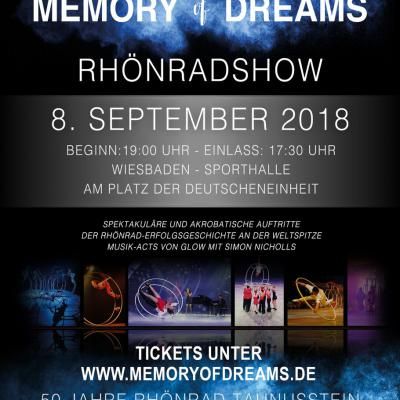 """Memory of dreams"" die Rhönradshow"