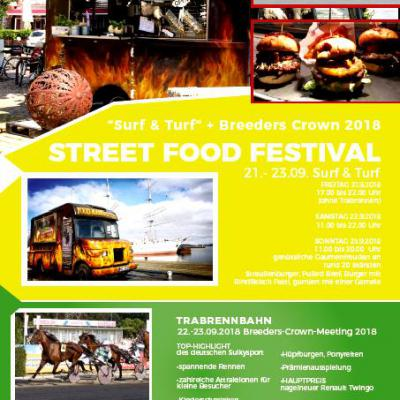Street Food Festival & Breeders Crown 2018