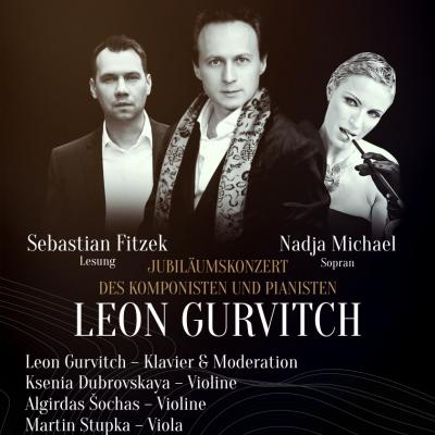 Leon Gurvitch & Friends for UNICEF with S. Fitzek