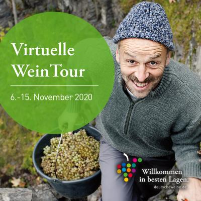 Virtuelle WeinTour vom 6-15. November