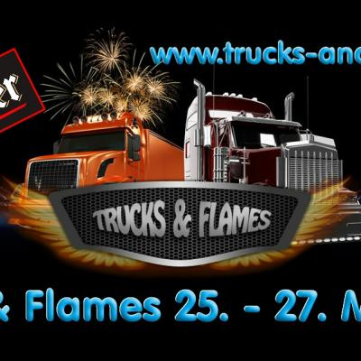 Trucks and Flames