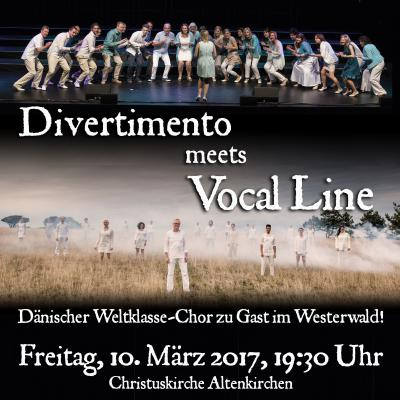 Chor Divertimento meets Vocal Line