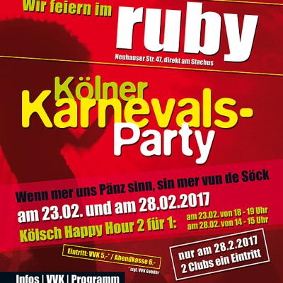 Kölner Karnevals Party 2017
