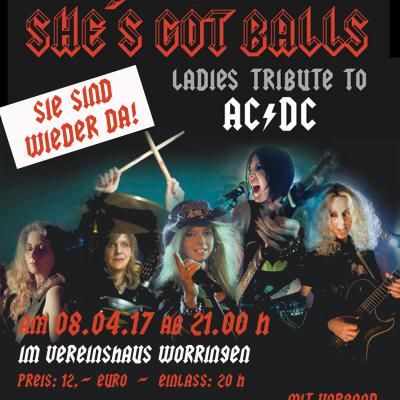 She´s Got Balls/ Ladies Tribute to ACDC