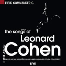 The Songs of Leonard Cohen performed by Field Commander